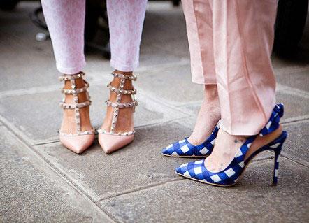 Тренд сезона: туфли с острым носом