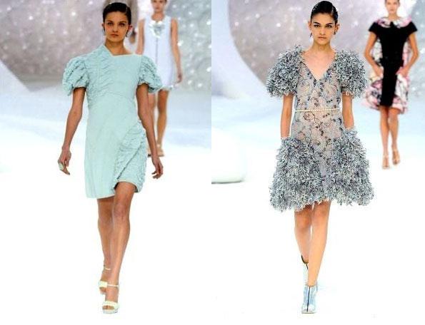 Подводный мир Chanel. Коллекция pret-a-porte весна-лето 2012
