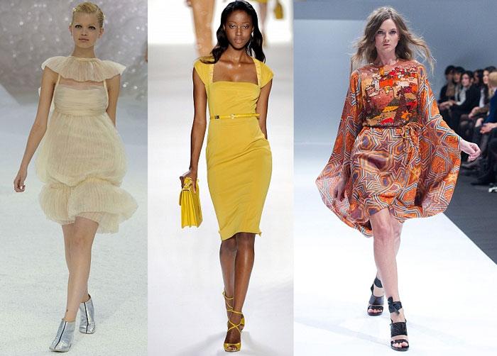 Актуальные тренды сезона весна-лето 2012: платья
