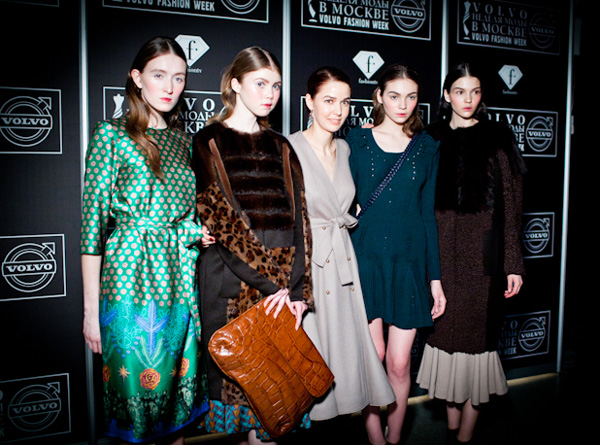 Volvo Fashion Week: показ Alena Akhmadulina