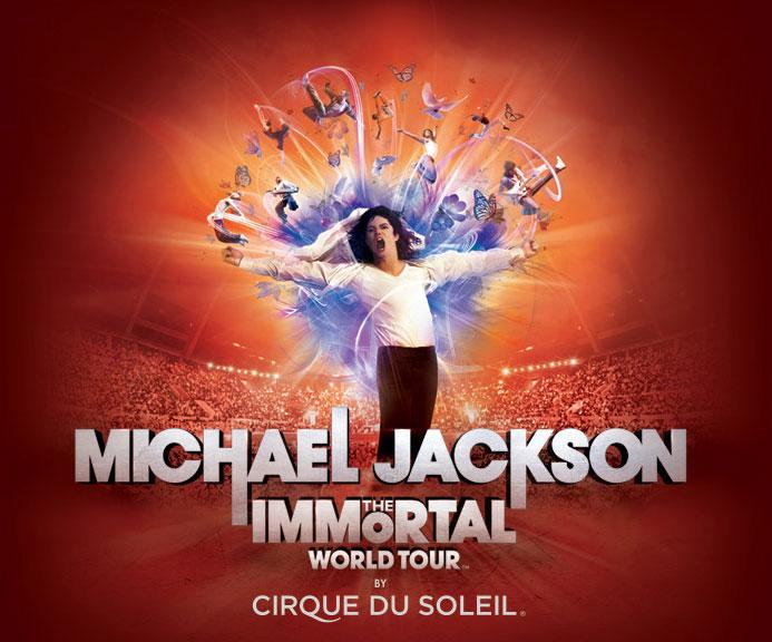 Гастроли Michael Jackson THE IMMORTAL World Tour от Cirque du Soleil пройдут в Олимпийском